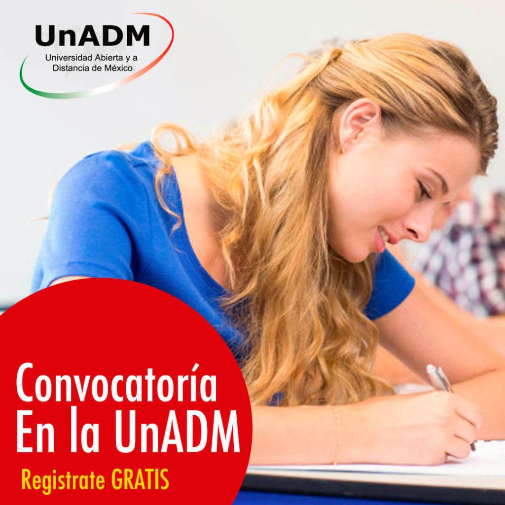 Convocatoria de la UnADM