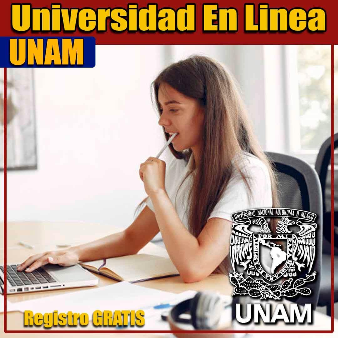 Universidad en linea UNAM