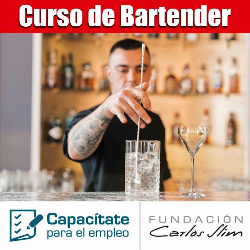 Curso de Bartender en linea