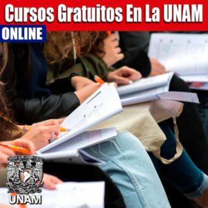 Inscríbete a los cursos de la UNAM