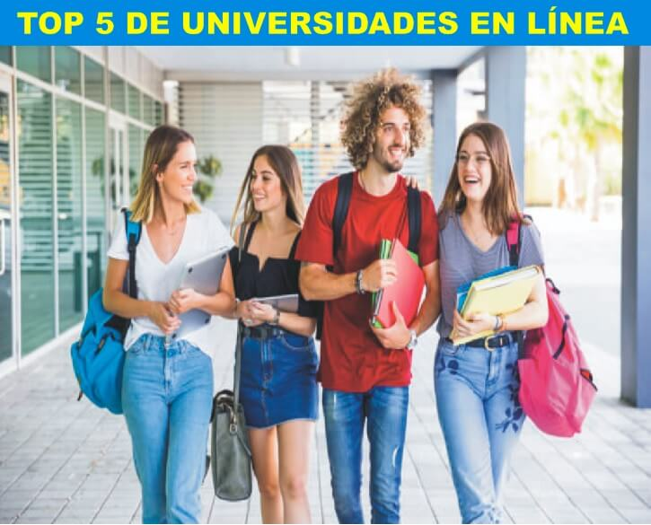 TOP 5 UNIVERSIDADES EN LÍNEA